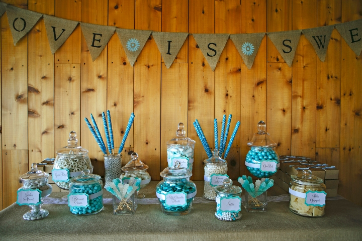 Amazing Candy table by Bon Bon Candies