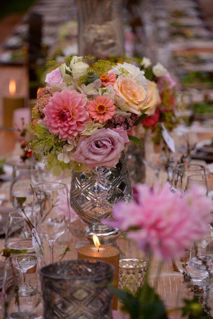 Garden floral arrangement